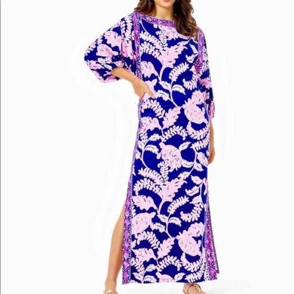 NWT Lilly Pulitzer Silva Maxi Dress 4